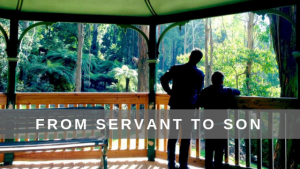1 Kings 19:19-21 From a Servant to a Son