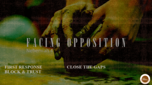 Facing Opposition